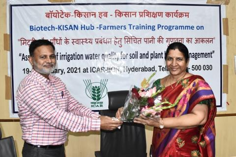 Bio-tech KISAN Hub Farmers Training Programme