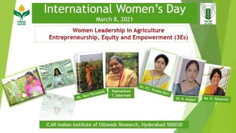 International Womens Day Celebrations