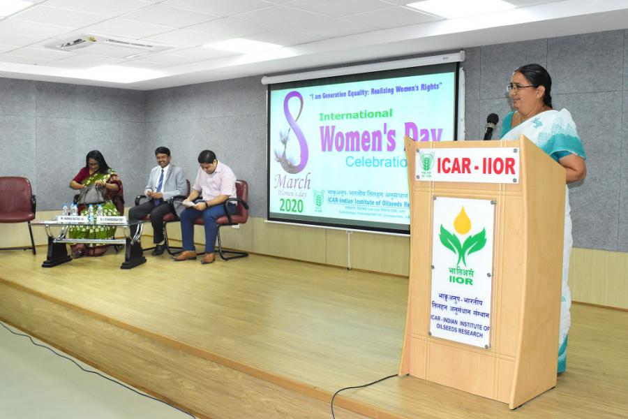 International Womens Day Celebrations at IIOR