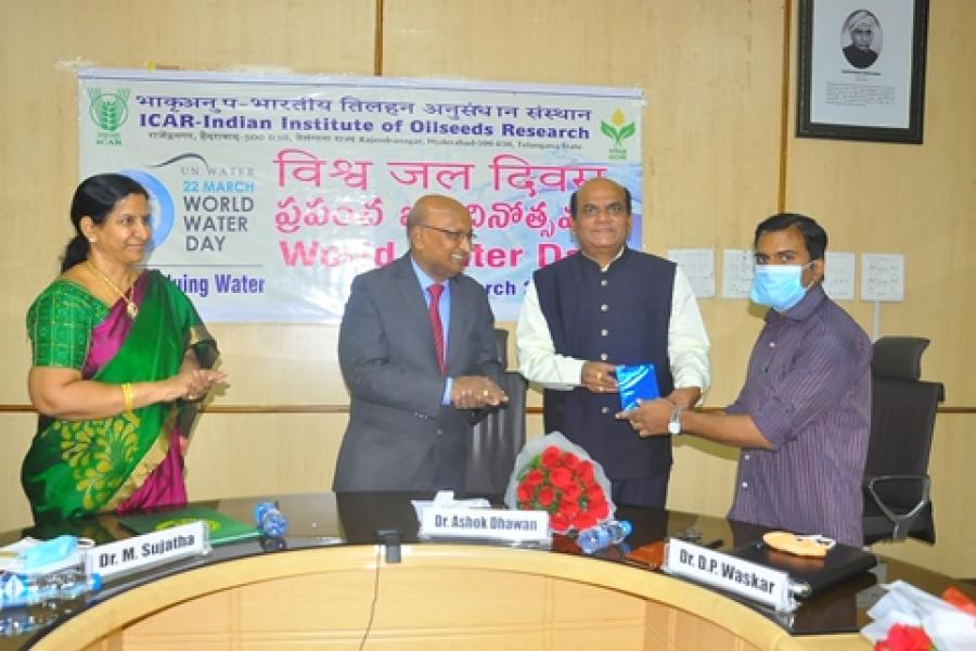 World water day on 22.03.2021